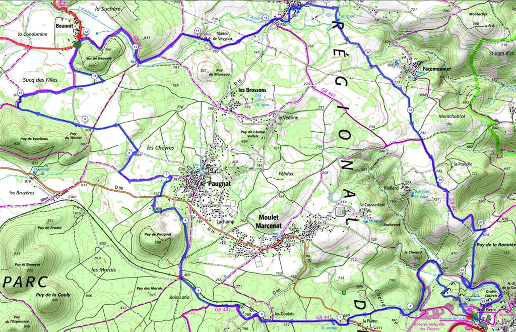 GPX - Ronde de la Pierre (22km)