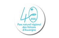 Logo Parc Naturel Régional Volcans d'Auvergne