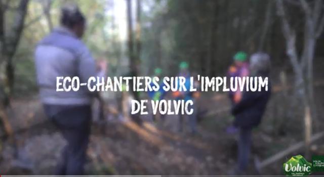 Eco-Chantiers de l'Impluvium de Volvic