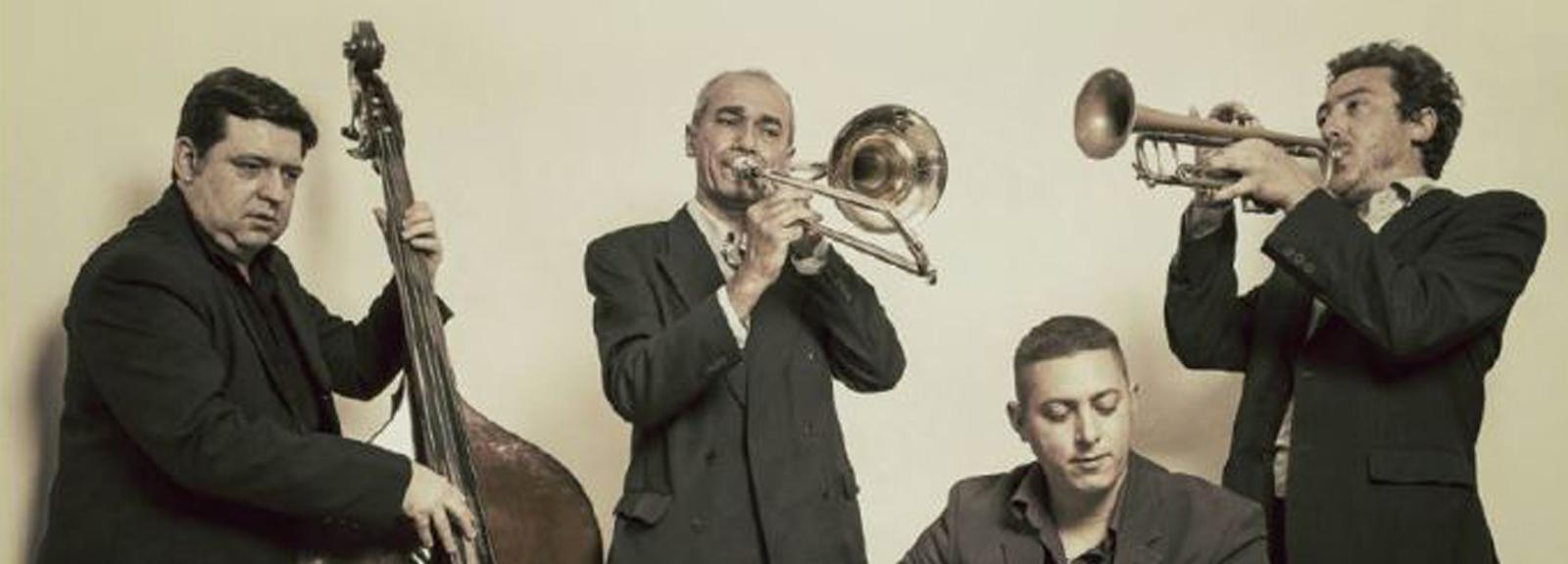 Concert du Central Swing Quartet