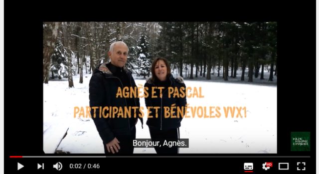 Interview VVX – Agnès et Pascal