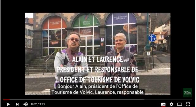 VVX 2018 – Interview Office de Tourisme de Volvic