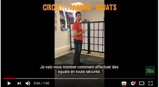 VVX 2018 – Loïc Lachemi – Circuit training : Squats