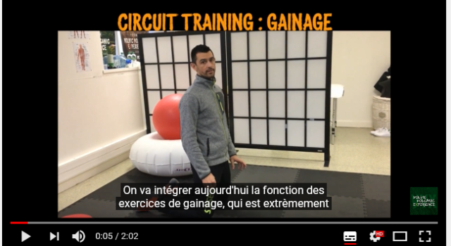 VVX 2018 – Loïc Lachemi – Circuit training : Gainage