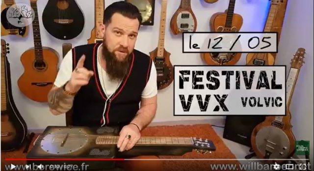 VVX 2018 – Annonce officielle Will Barber concert 12 mai