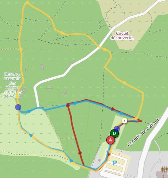 Parcours VVX Kids Trail