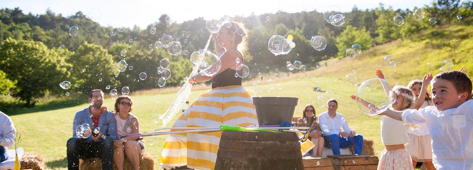 Déam»bulles»ation – Cie Lurluberlue
